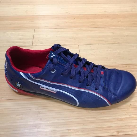 c6c17d21eb66 PUMA BMW blue sneakers tennis shoes